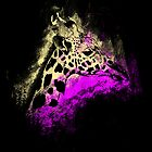 Giraffe Splashed by JordanDesigning
