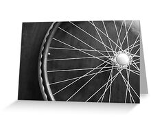 Wheel Greeting Card