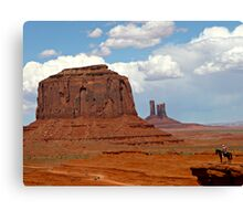 Cowboys and Indians Canvas Print