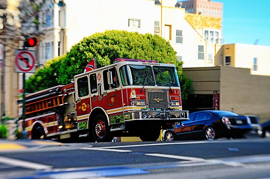 San Francisco Fire Deparment by Kasia-D