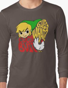 Guess What? Cucco Butt. Long Sleeve T-Shirt