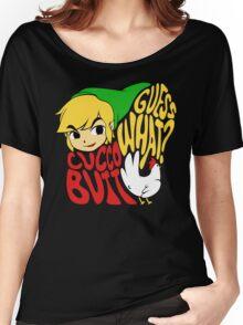 Guess What? Cucco Butt. Women's Relaxed Fit T-Shirt