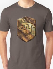 Custom Dredd Badge - (Belford) T-Shirt