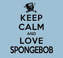 Keep Calm and Love Spongebob (light colors) Unisex T-Shirt