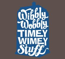 Timey Wimey Kids Clothes