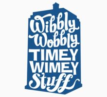 Timey Wimey One Piece - Long Sleeve