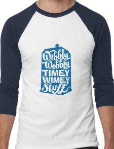 Timey Wimey Men's Baseball ¾ T-Shirt