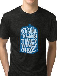 Timey Wimey Tri-blend T-Shirt