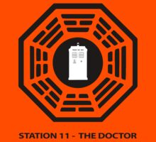 Station 11 - The Doctor  Kids Tee