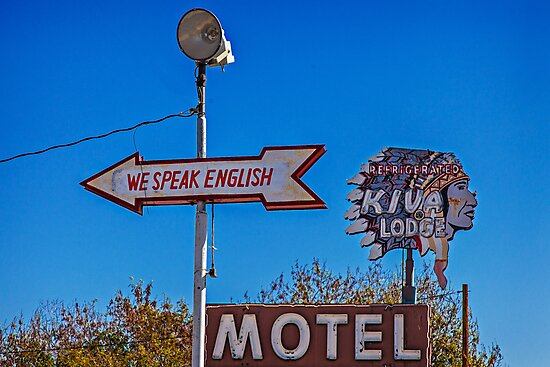 We Speak English #4395 by LoneTreeImages