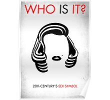 Marilyn Monroe - WHO IS IT? Poster