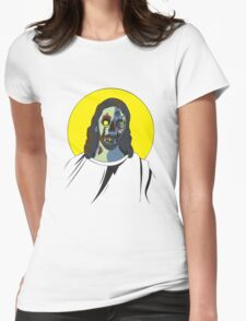 Zombie Jesus [without text] Womens Fitted T-Shirt