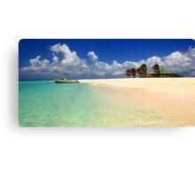 Sandy Island, Anguilla Canvas Print