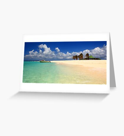 Sandy Island, Anguilla Greeting Card