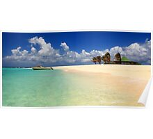 Sandy Island, Anguilla Poster