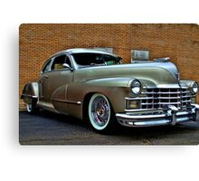 1947 Cadillac Street Rod Canvas Print