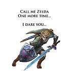Zelda: I Dare You by hdrew13