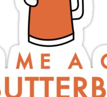 The butterbeer's gonna flow Sticker