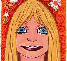 Goldie Hawn Flower Power by racheljcox