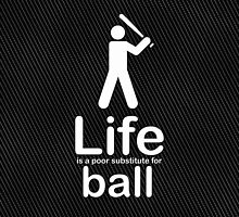 Ball v Life - Carbon Fibre Finish by Ron Marton