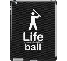 Ball v Life - Carbon Fibre Finish iPad Case/Skin