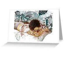 Tattoo Dreams Greeting Card