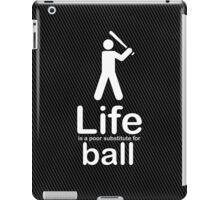 Ball v Life - Marble iPad Case/Skin