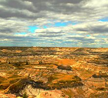 Drumheller canyons  by Johnathan Perreal