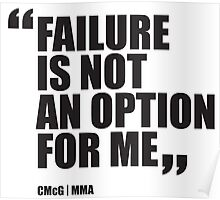 Conor McGregor - Quotes [Failure] Poster