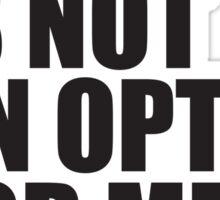 Conor McGregor - Quotes [Failure] Sticker