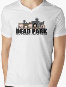 Dead Park Mens V-Neck T-Shirt