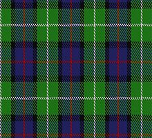 02321 Davidson of Tulloch Clan/Family Tartan Fabric Print Iphone Case by Detnecs2013