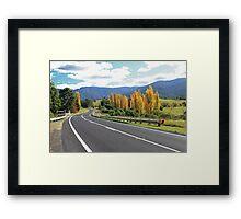 Autumn in the Bega Valley Framed Print