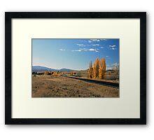 Autumn in the Monaro Framed Print