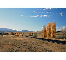 Autumn in the Monaro Photographic Print