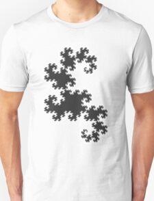 Dragons curve fractal T-Shirt