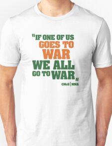 Conor McGregor - Quotes [WAR] Unisex T-Shirt