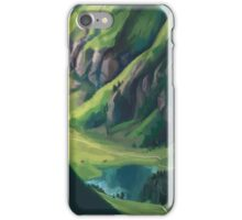 Nordic Landscape iPhone Case/Skin