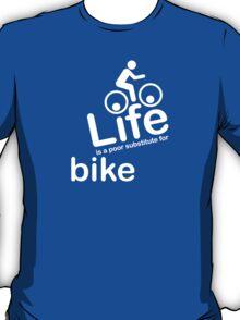 Bike v Life - Black T-Shirt