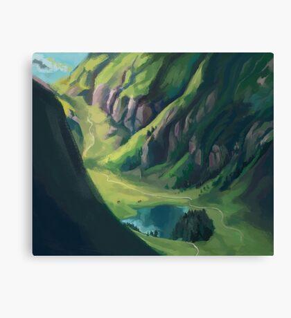 Nordic Landscape Canvas Print