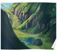 Nordic Landscape Poster