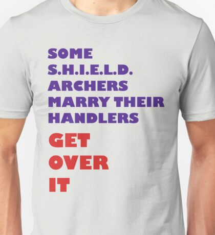Archers Marry Their Handlers Unisex T-Shirt