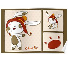 Hat Bunny #1 - Charlie Poster