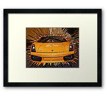 My Favorite Car Framed Print