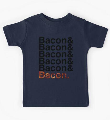 Bacon& Kids Tee
