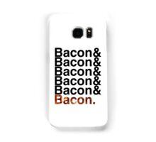 Bacon& Samsung Galaxy Case/Skin