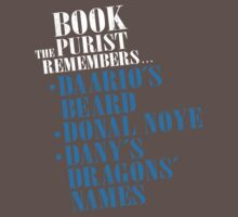 The Book Purist Remembers 3 by JenSnow