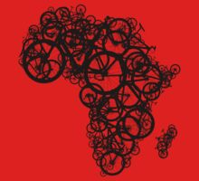 Africa T (Red) by redbikegreen
