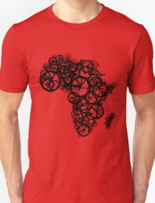 Africa T (Red) Unisex T-Shirt
