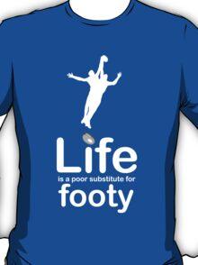 AFL v Life - Black T-Shirt